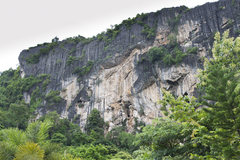 Rock Climbing Photo: The lime stone mesa is waiting for more bolting to...