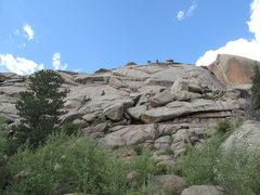 Rock Climbing Photo: Turtle Rock.