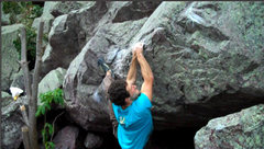 Rock Climbing Photo: Towards the end