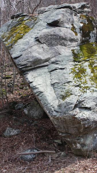 Rock Climbing Photo: side shot from across road.