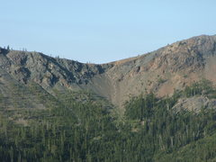 Rock Climbing Photo: The Nasty Intestine Decent viewed from Mt. Stuart