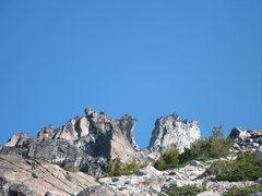 Rock Climbing Photo: Cool Rock viewed on the Cascadian Coluir