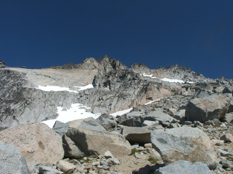 Mt. Stuart false summit