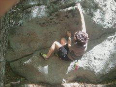 Rock Climbing Photo: Pat at the start of the climb