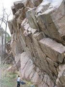 "Rock Climbing Photo: This is Jason belaying Scott, aka ""Tom"",..."