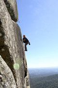 Rock Climbing Photo: My first climb in Brasil.  Photo by Isa Vellozo