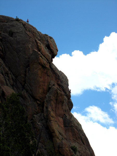 Rock Climbing Photo: The Monument as seen from the Chicken Head Ranch. ...