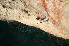 Rock Climbing Photo: Diablo wall, Mallorca