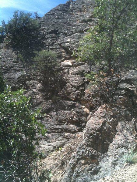 Rock Climbing Photo: Jenga Close Up