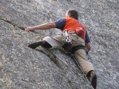 Rock Climbing Photo: Chris Owen on Aurora Borealis, photo by Manila Ang...