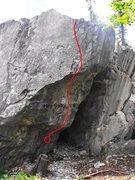 Rock Climbing Photo: Hey Sailor Topo