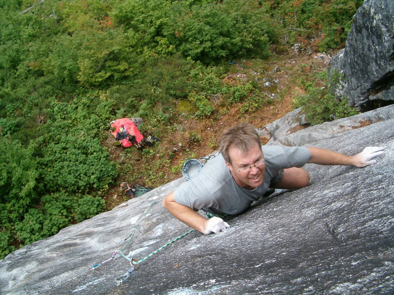 D. Mackay on the 2nd ascent.