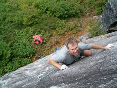 Rock Climbing Photo: D. Mackay on the 2nd ascent.