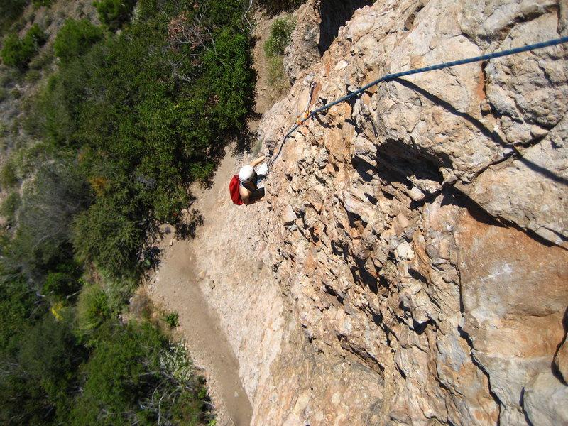 Rock Climbing Photo: Golden Slumbers