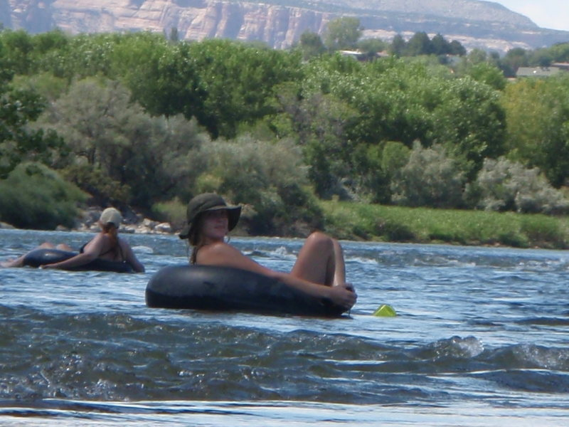 Floating the Colorado River !