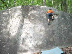Rock Climbing Photo: Meat Grinder at the Bearfields, SC
