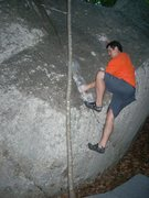 Rock Climbing Photo: Use The Force V3 at Jedi Boulders, SC