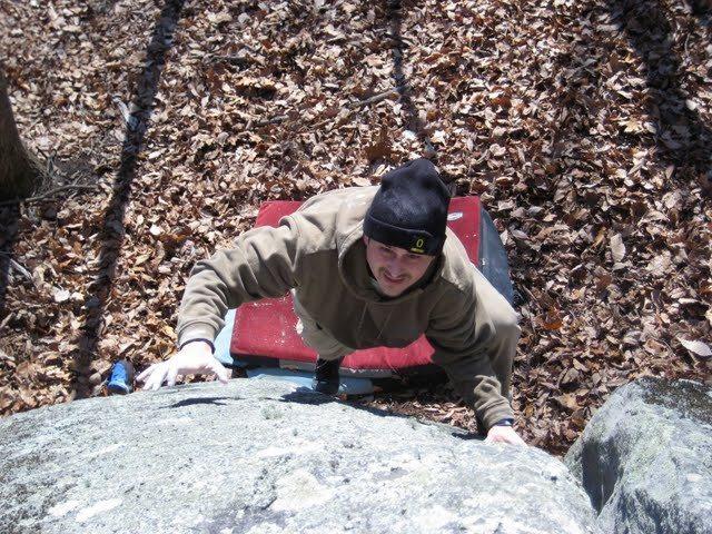 Turtle Arete V3 at Jedi Boulders