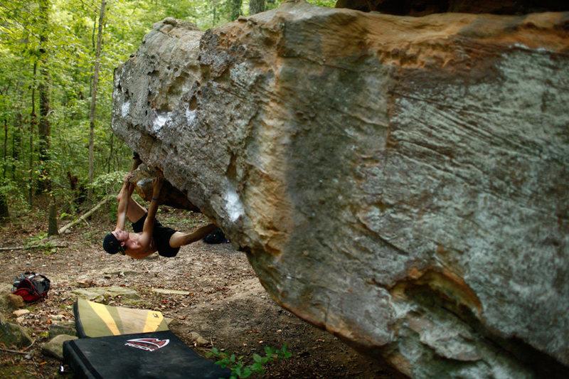 Rock Climbing Photo: V5 at Shanty