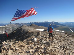 Rock Climbing Photo: Summit of Mt Sherman 14036'Aug 7th 2011   No.... t...