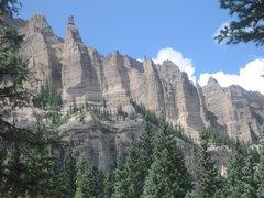 Rock Climbing Photo: All unclimbed