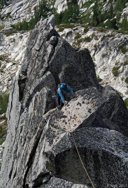 Rock Climbing Photo: W. ridge