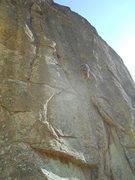 "Rock Climbing Photo: Prima's two ""shark gill"" shallow corner ..."
