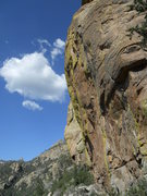 Rock Climbing Photo: A new 5.11 on the northwest face