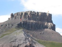 Rock Climbing Photo: Southwest Chimney, Coxcomb Peak, CO.