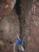 Rock Climbing Photo: This is my face on the second ascent of The Warrio...