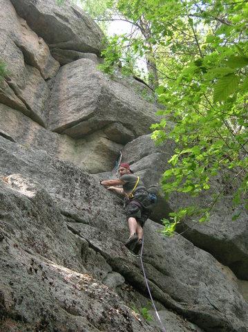 Rock Climbing Photo: Centerfold