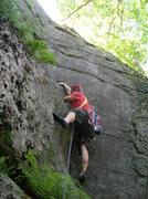 Rock Climbing Photo: Corner Crack