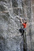 Rock Climbing Photo: 'Arretez-vous'. Photo: S. Giffin.