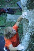 Rock Climbing Photo: Yeah Joe!