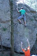 Rock Climbing Photo: A photo for fun, and scale!