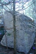 Rock Climbing Photo: This is the West Face of the Bruce Lee Wall. On th...