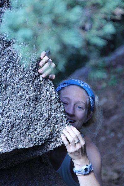 Yeah, climbing is fun!