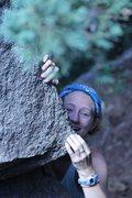 Rock Climbing Photo: Yeah, climbing is fun!