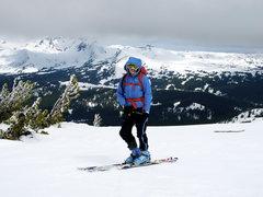 Rock Climbing Photo: May Skiing in Oregon