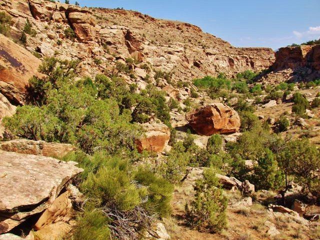 Nine Style Boulder Area.