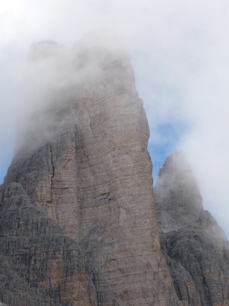 Rock Climbing Photo: Spigolo Giallo (The Yellow Edge) - mid afternoon c...