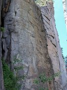 Rock Climbing Photo: Quick, short route of high quality