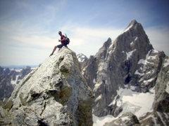 Rock Climbing Photo: Teewinot