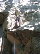 Rock Climbing Photo: As noted in another photo, a BD C4 #2 provides sol...