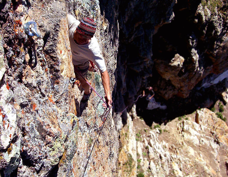 Rock Climbing Photo: Rasta Roofs
