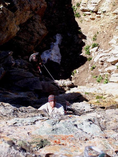 Rock Climbing Photo: Rasta Roofs
