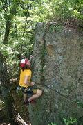 Rock Climbing Photo: Mr Fuzzy.