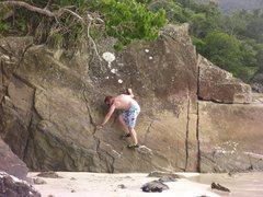 Rock Climbing Photo: St John USVI bouldering