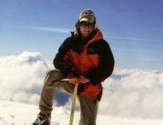 Rock Climbing Photo: Mt Adams solo.