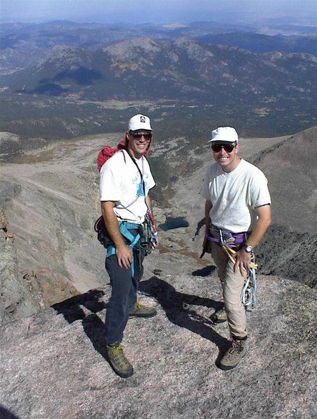 Longs Peak, Cables route